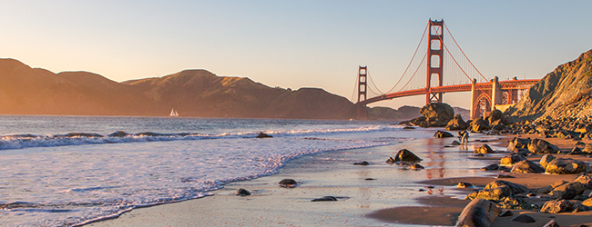 LISA-Sprachreisen-Erwachsene-Englisch-USA-San-Francisco-Golden-Gate-Bridge-Sonnenuntergang